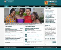 cambridge africa screenshot